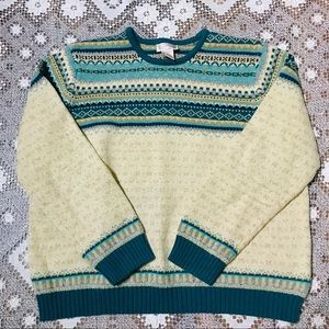 Vintage Northern Reflections sweater sz XL